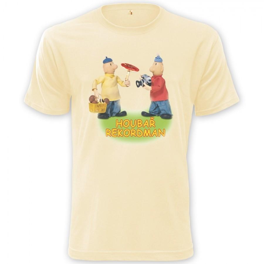 Dětské tričko Pat a Mat - Houbař rekordman