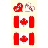Tetovací obtisky Kanada vzor A