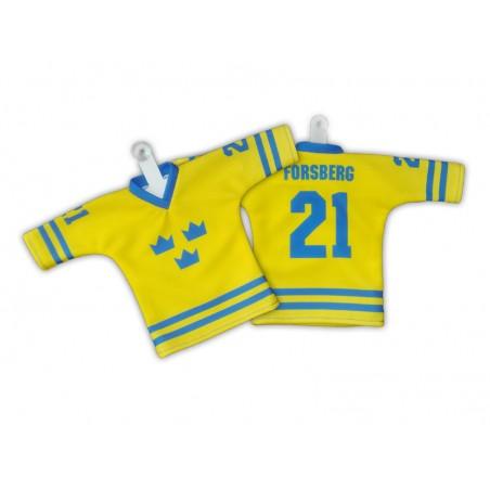 Minidres Švédsko žlutý