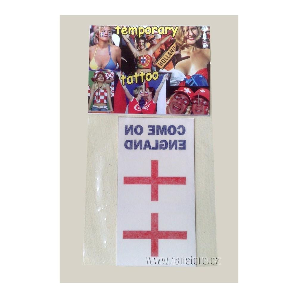 Tetovací obtisky Anglicko v blistre