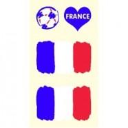 Tetovací obtisky Francie