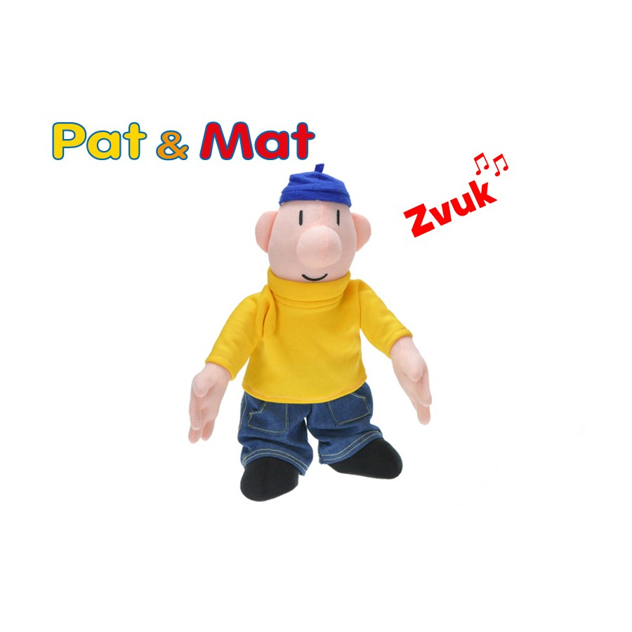 Pat a Mat plyšáci - Pat