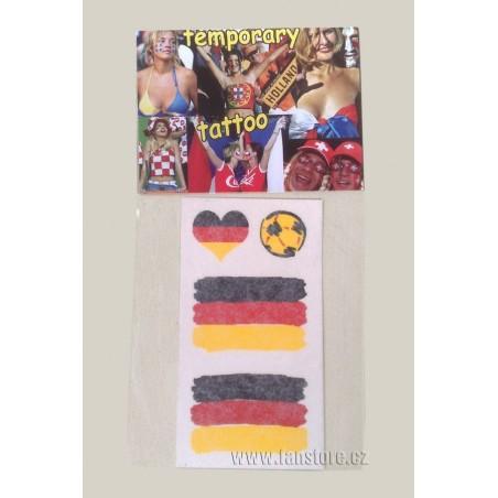 Tetovacie obtlačky Nemecko v blistre