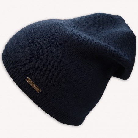 Zimní čepice Fashion modrá