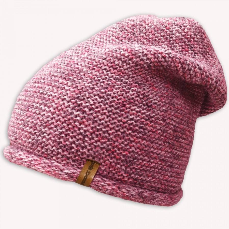 Zimní čepice NowMark růžová