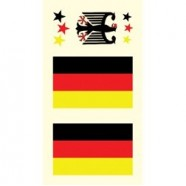 Tetovací obtisky Německo vzor C