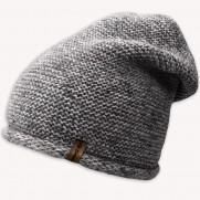 Zimní čepice NowMark šedá s vlnkou