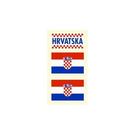 Tetovacie obtlačky Chorvátsko