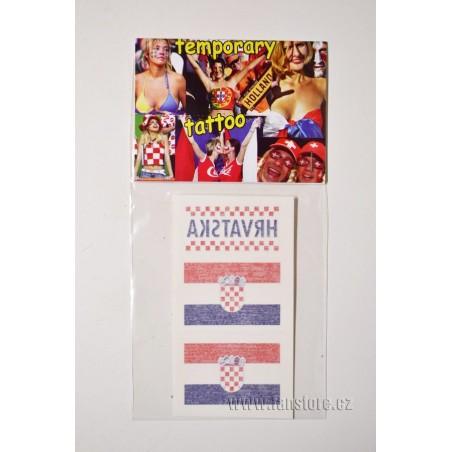 Tetovacie obtlačky Chorvátsko v blistre