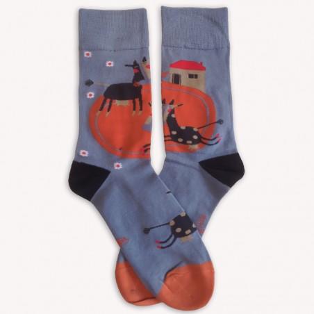 Ponožky Co se děje na dvorku