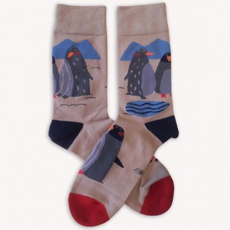Ponožky Veselí tučňáci