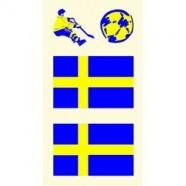 Tetovací obtisky Švédsko