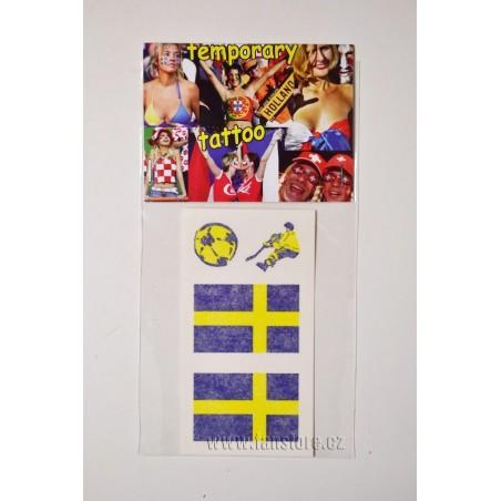 Tetovacie obtlačky Švédsko v blistre