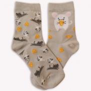 Ponožky S myškou šedé