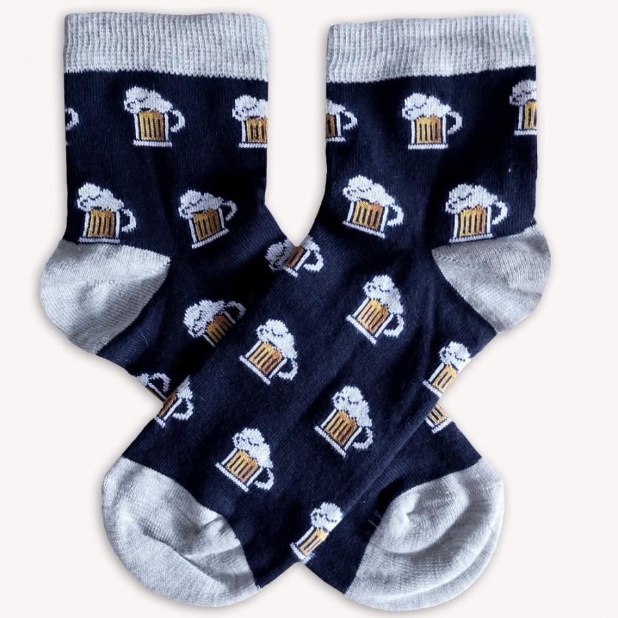 Ponožky Pivo modré