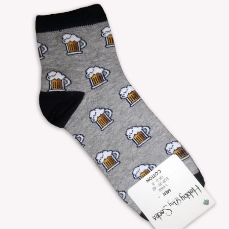 Ponožky Pivo šedé