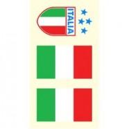 Tetovací obtisky Itálie