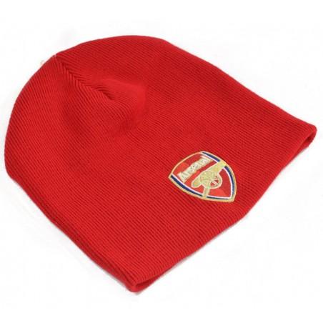Zimní čepice Arsenal FC červená CorE červená