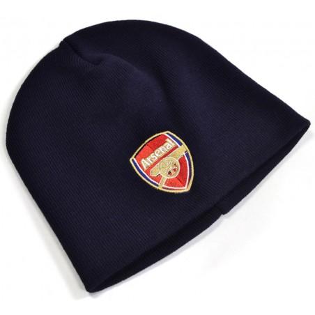 Zimní čepice Arsenal FC červená CorE modrá