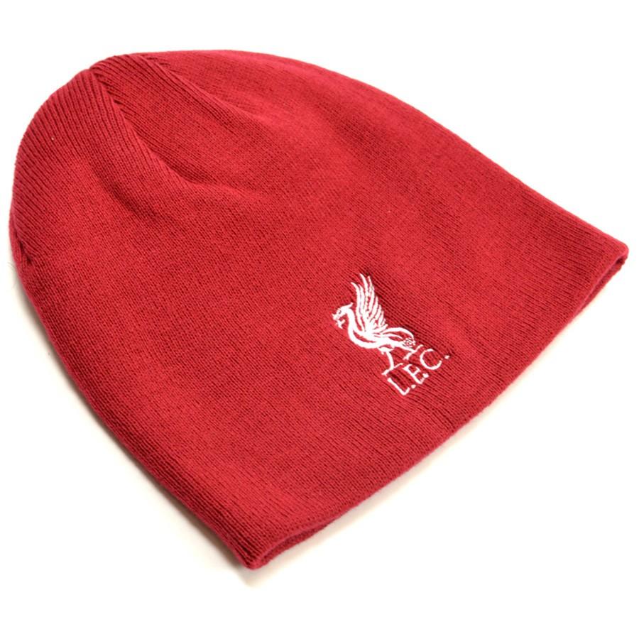 Zimní čepice Liverpool FC červená