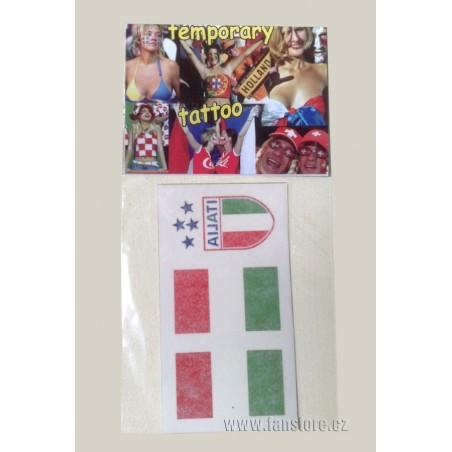 Tetovacie obtlačky Taliansko v blistre