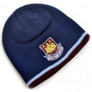 Zimní čepice West Ham United modrá