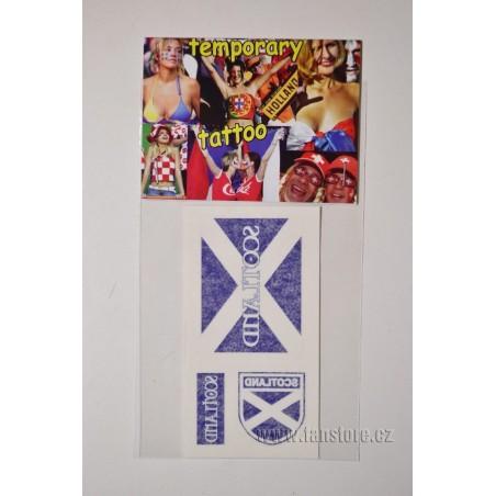 Tetovacie obtlačky Škótsko v blistre