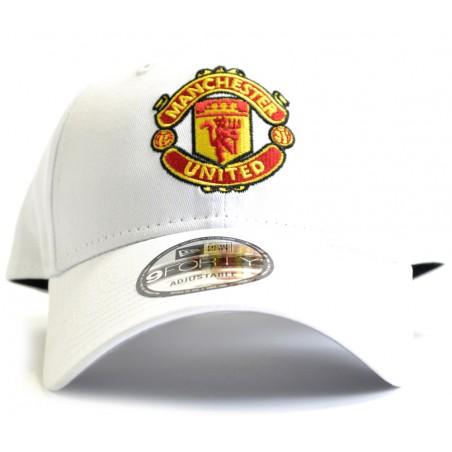 Kšiltovka New Era Manchester Utd 9Forty bílá