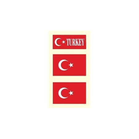 Tetovacie obtlačky Turecko