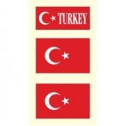 Tetovací obtisky Turecko