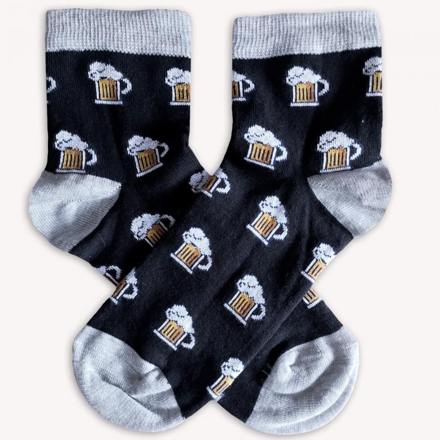 Ponožky Pivo černé