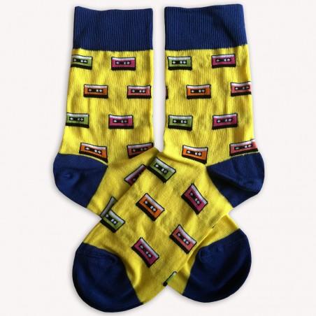 Retro ponožky Audiokazety