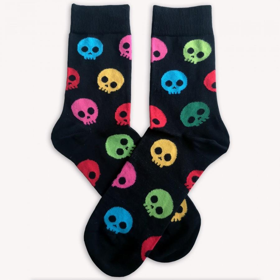 Ponožky Barevní Kostlivci