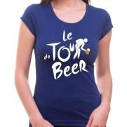 Tričko Pivo dámské - Tour de Beer