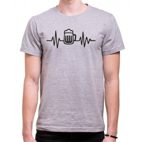 Tričko EKG Pivo