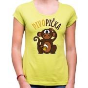 Tričko Opička Pivopička