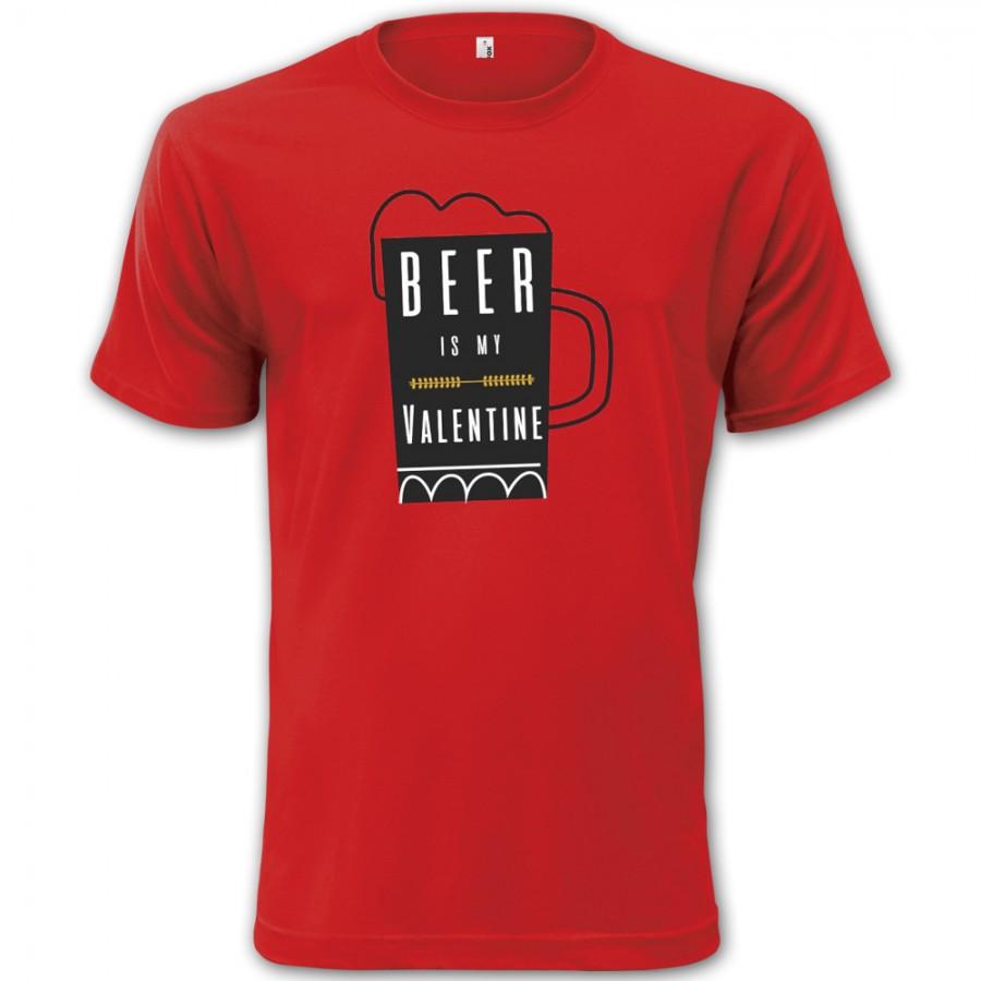 Tričko Pivo je můj Valentýn