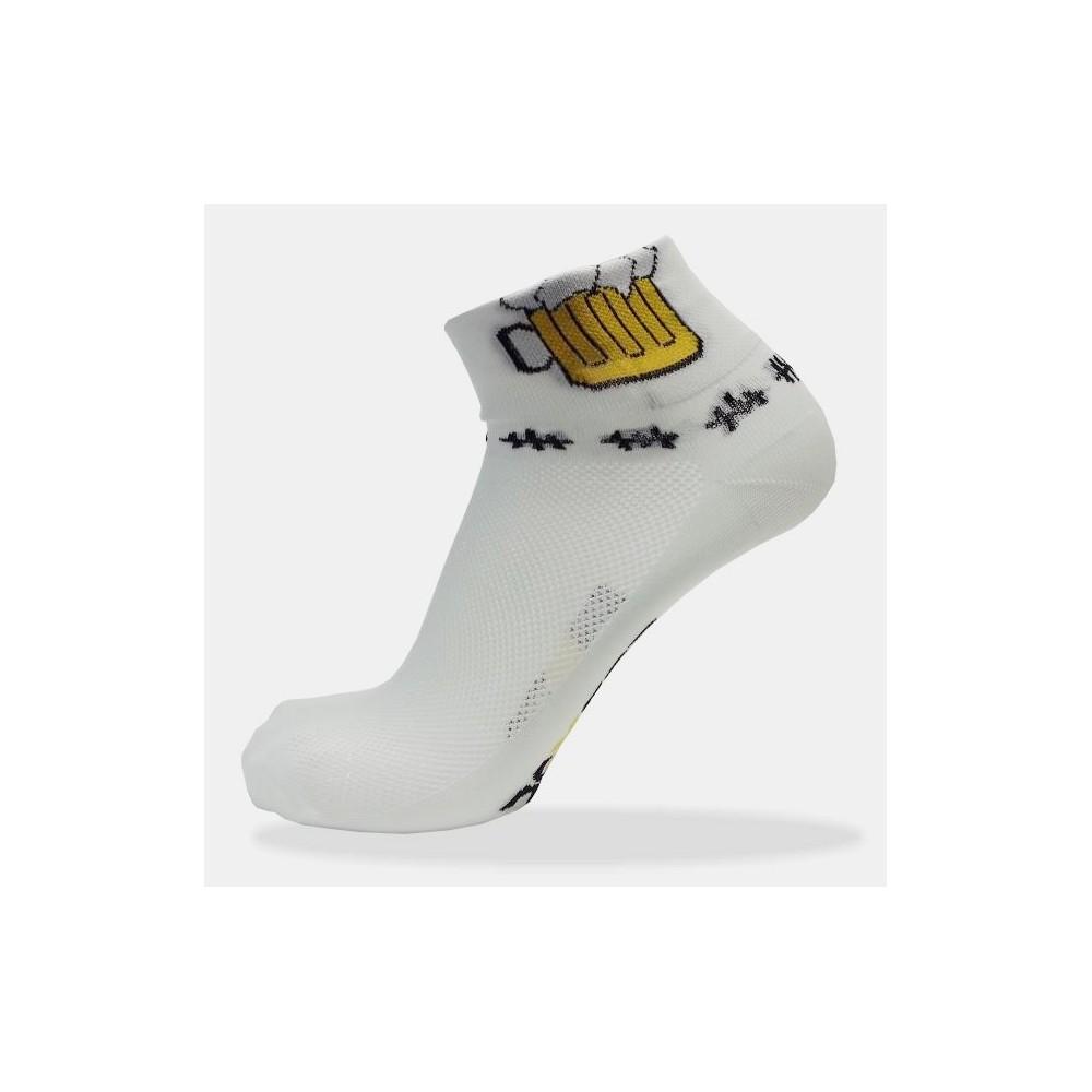 Cyklistické ponožky s pivem 4099453017