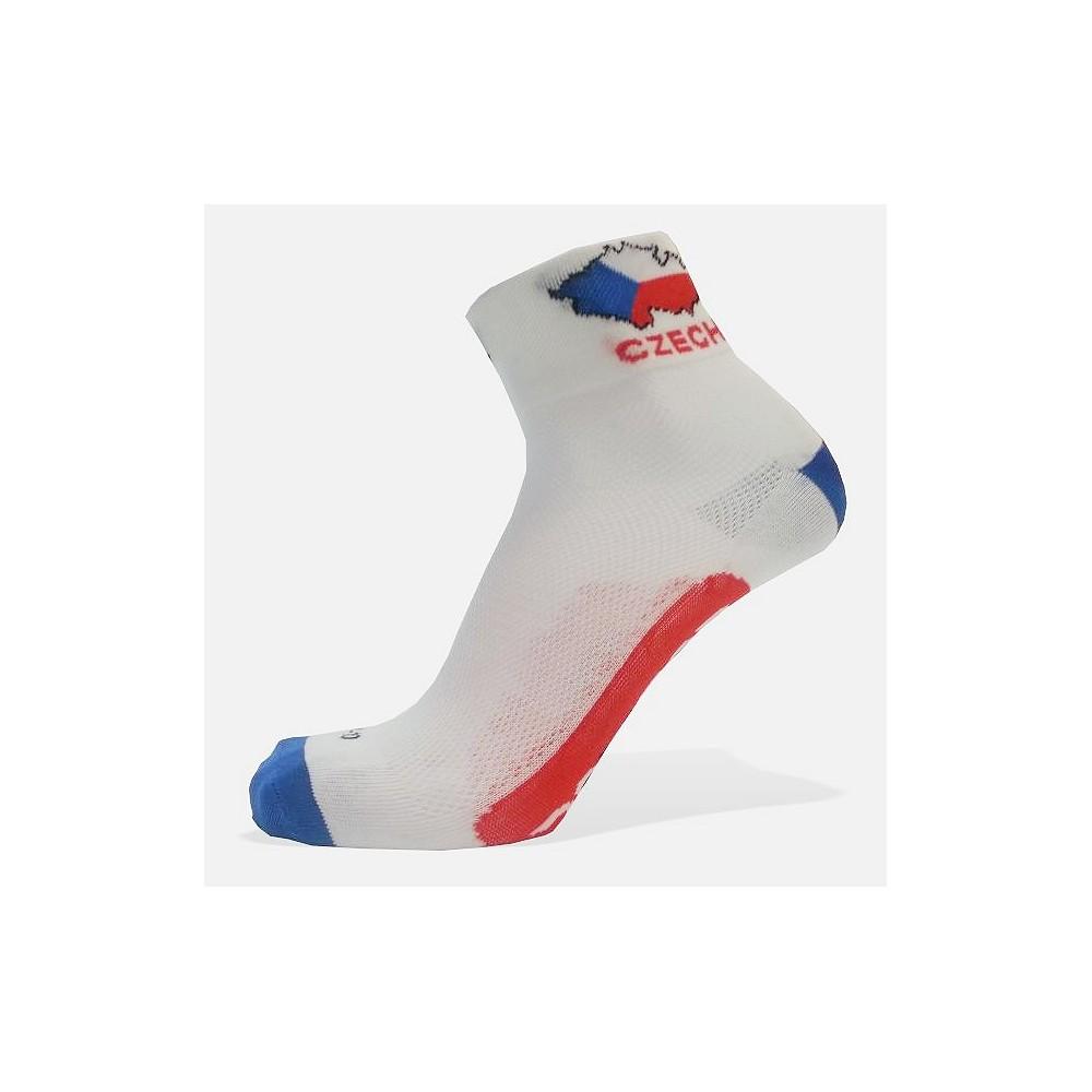 Cyklo ponožky Česká republika e177072f74