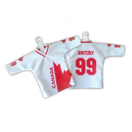 RETRO minidres Kanada biely - Kanadský pohár