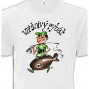 Tričko Vášnivý rybář