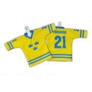 Hokejový minidres Švédsko žlutý