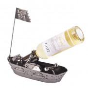 Stojan na víno - Pirát v člunu