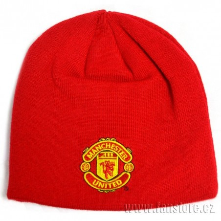 Zimná čiapka Manchester Utd červená