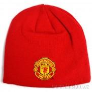 Zimní čepice Manchester Utd červená