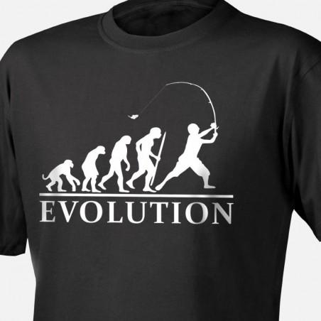 Tričko Evoluce rybáře
