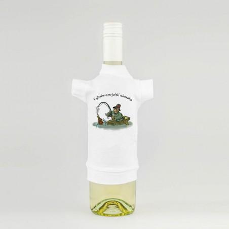 Tričko na láhev - Rybářova největší nástraha