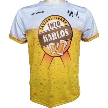Sportovní tričko Zrození pivaře