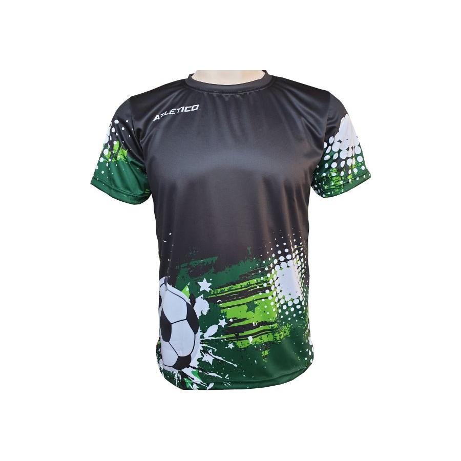 Sportovní fotbalové tričko tmavé