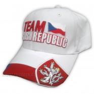 Kšiltovka Team Czech republic bílá